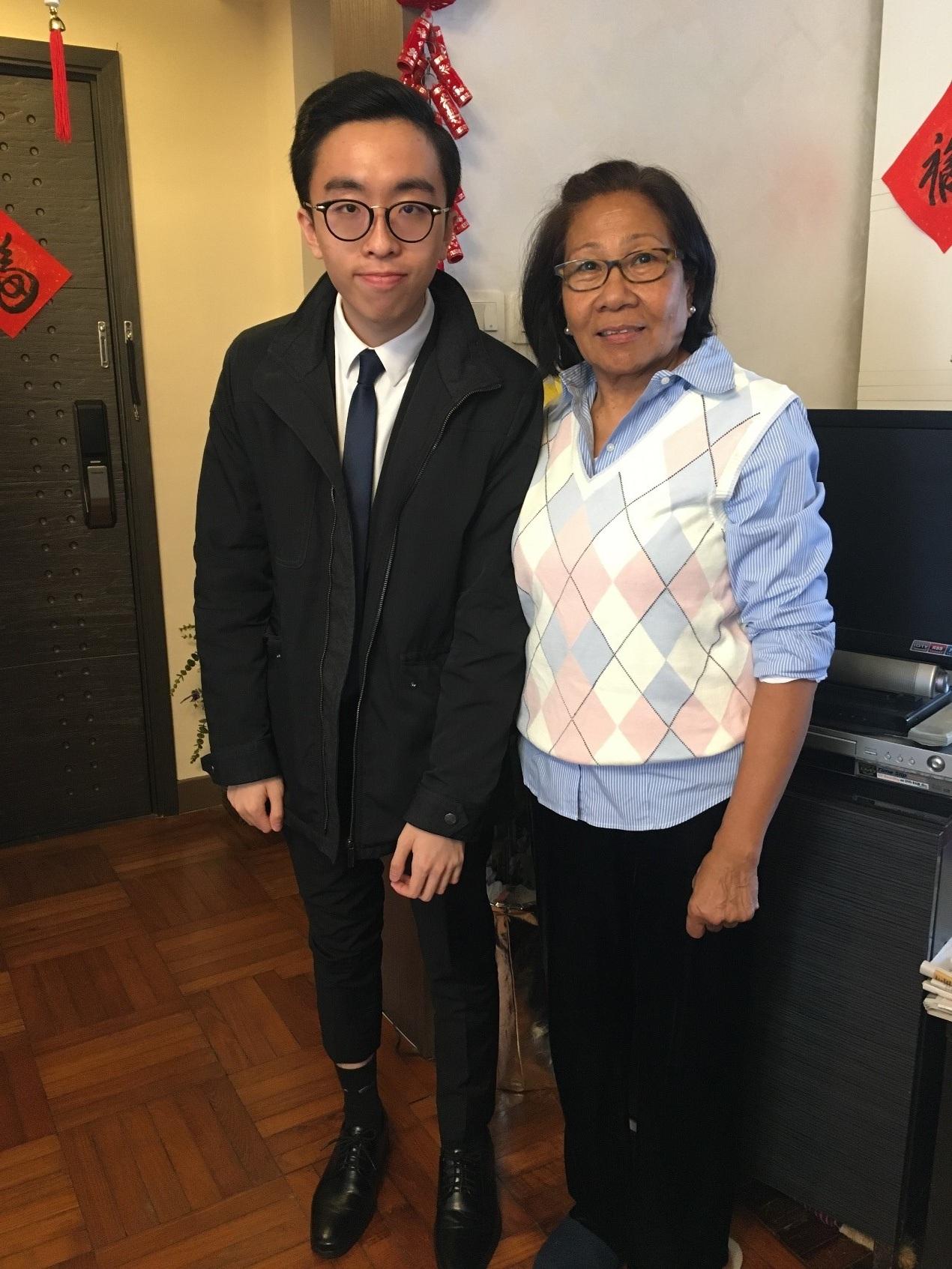 羅浩雲LAW Ho Wan and Leticia