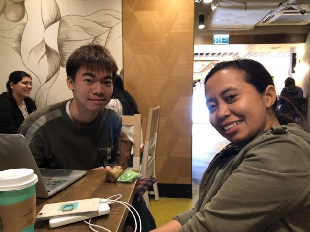 張耀鋒CHEUNG Yiu Fung and Sri