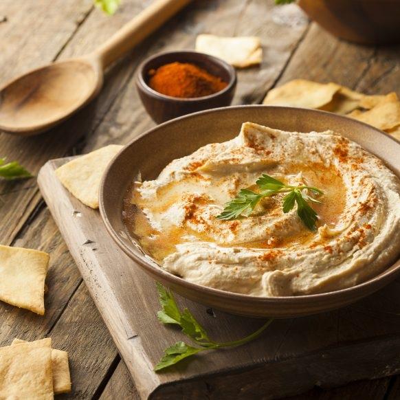 Hummus with Organic Sesame Powder
