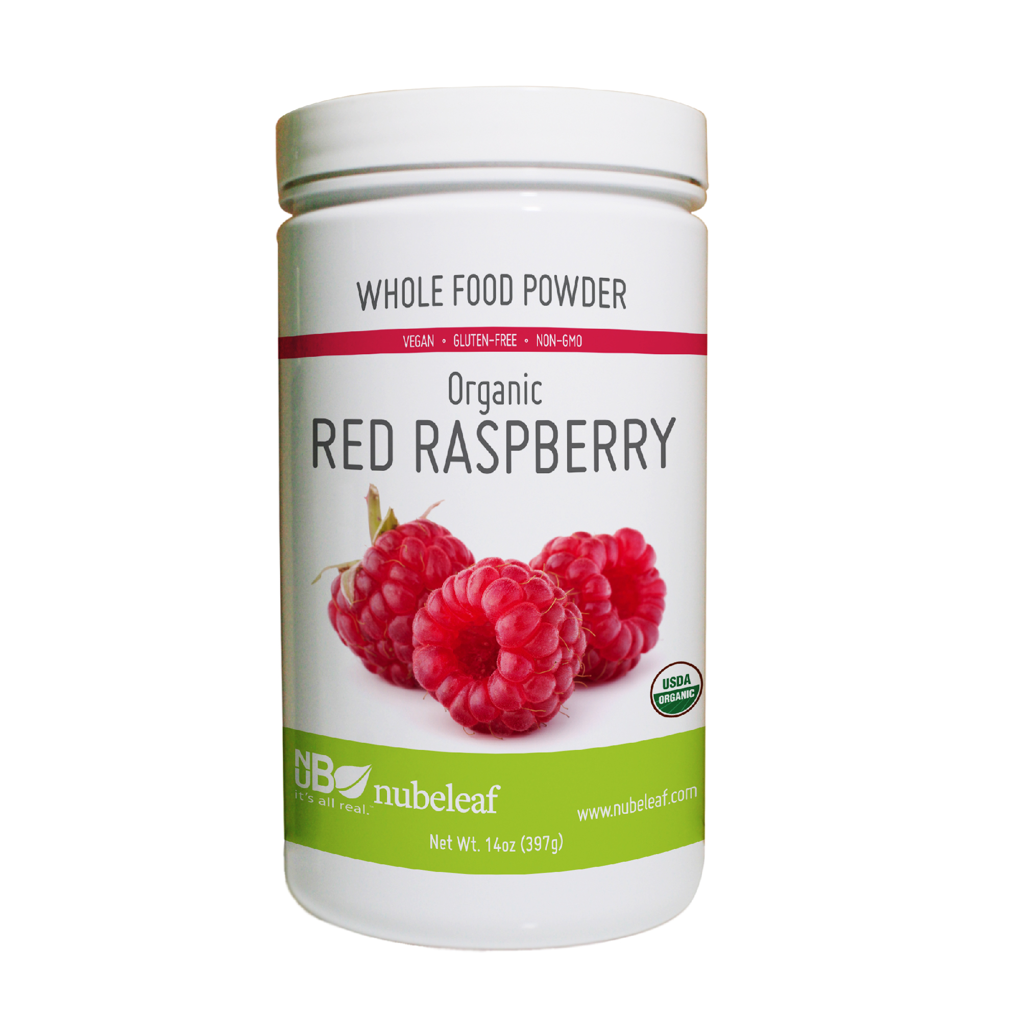Erica's favorite nubeleaf product is our Organic Red Raspberry Powder.