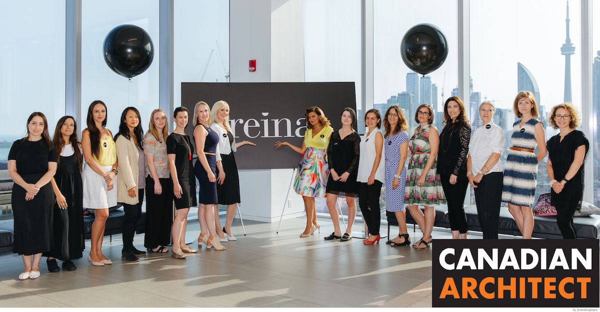 "canadian architect - ""Reina Condos' all-female development team cuts new territory in Canada with women-focused design consultation"" - July 25, 2019VIEW ARTICLE"