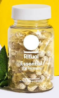 I originally discovered Ritual on  instagram  and I love it. I can trust Ritual because they give users complete knowledge as to why they've included their ingredients and what they're good for. As well as where their ingredients come from. More then that I've seen more benefits from these vitamins then I have from a year of taking gummie's.  $30 a month.