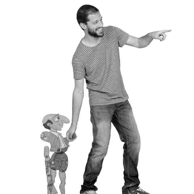 Theodoros Kostidakis - Dramatherapist & Shadow Puppeteer
