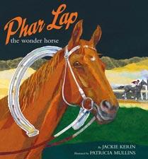 Book cover - Phar Lap the Wonder Horse