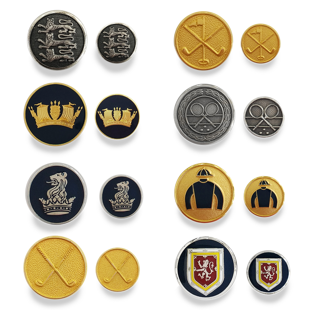 Shaw Munster Group Blazer Buttons