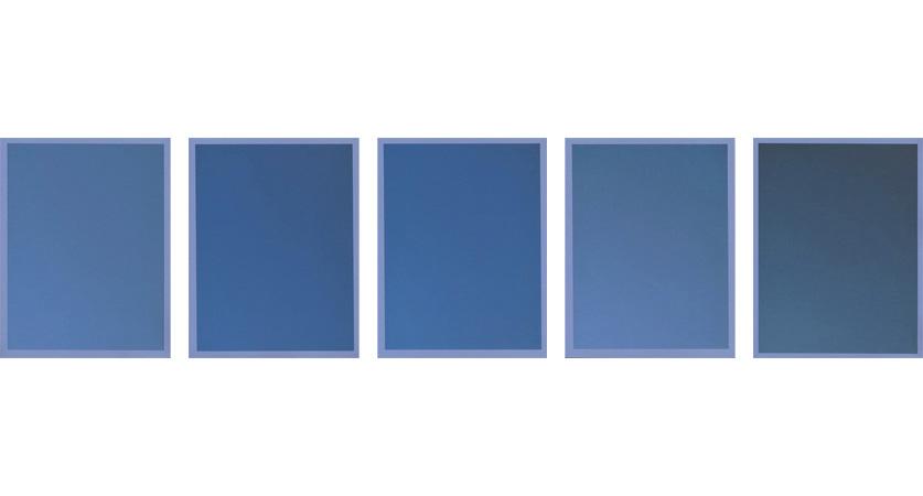 Colour on Colour Blue, 2010