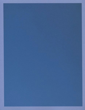 Colour on Colour Blue (Friday 12:17 pm) Pigment print, 8.5 x 11 in