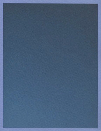 Colour on Colour Blue (Friday 5:04 pm) Pigment print, 8.5 x 11 in