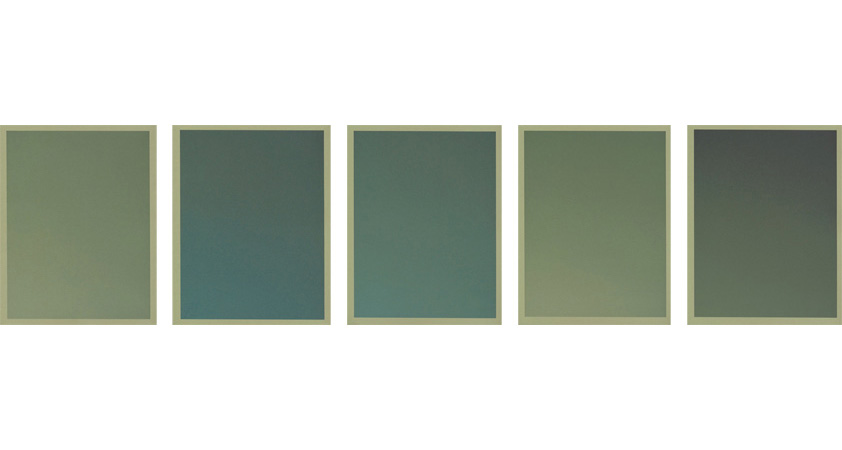 Colour on Colour Green, 2010