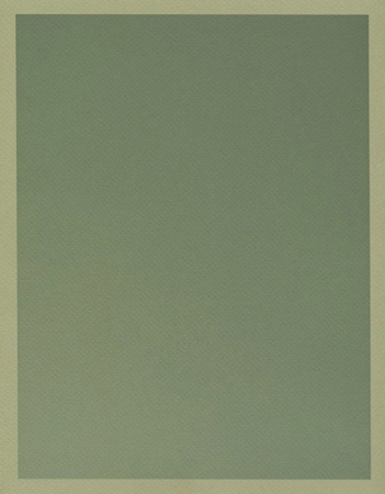Colour on Colour Green (Tuesday 9:32 am) Pigment print, 8.5 x 11 in