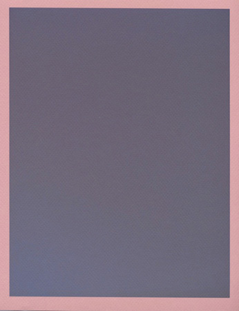 Colour on Colour Pink (Wednesday 4:46 pm) Pigment print, 8.5 x 11 in