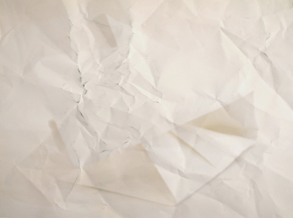 Paper Works (Pink) #7, 2010 Giclée print on folded paper  50 x 70 cm