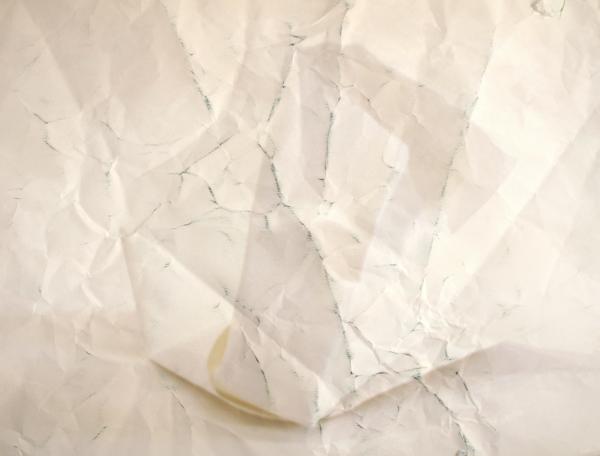 Paper Works (Pink) #8, 2010 Giclée print on folded paper  50 x 70 cm