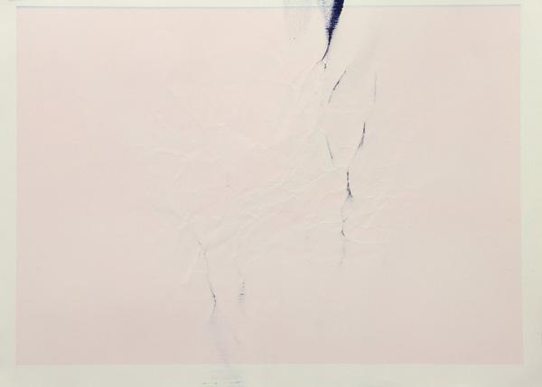 Tinted Headstrike #5, 2015 Unique giclée print, 107 x 78 cm