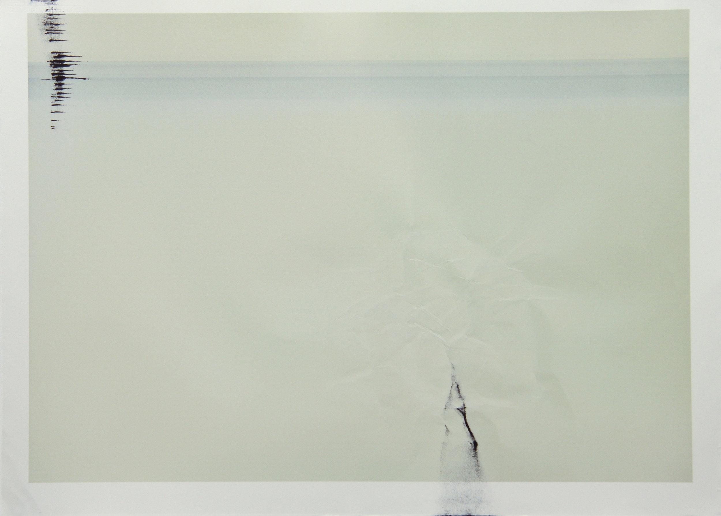 Tinted Headstrike #3, 2015 Unique giclée print, 107 x 78 cm