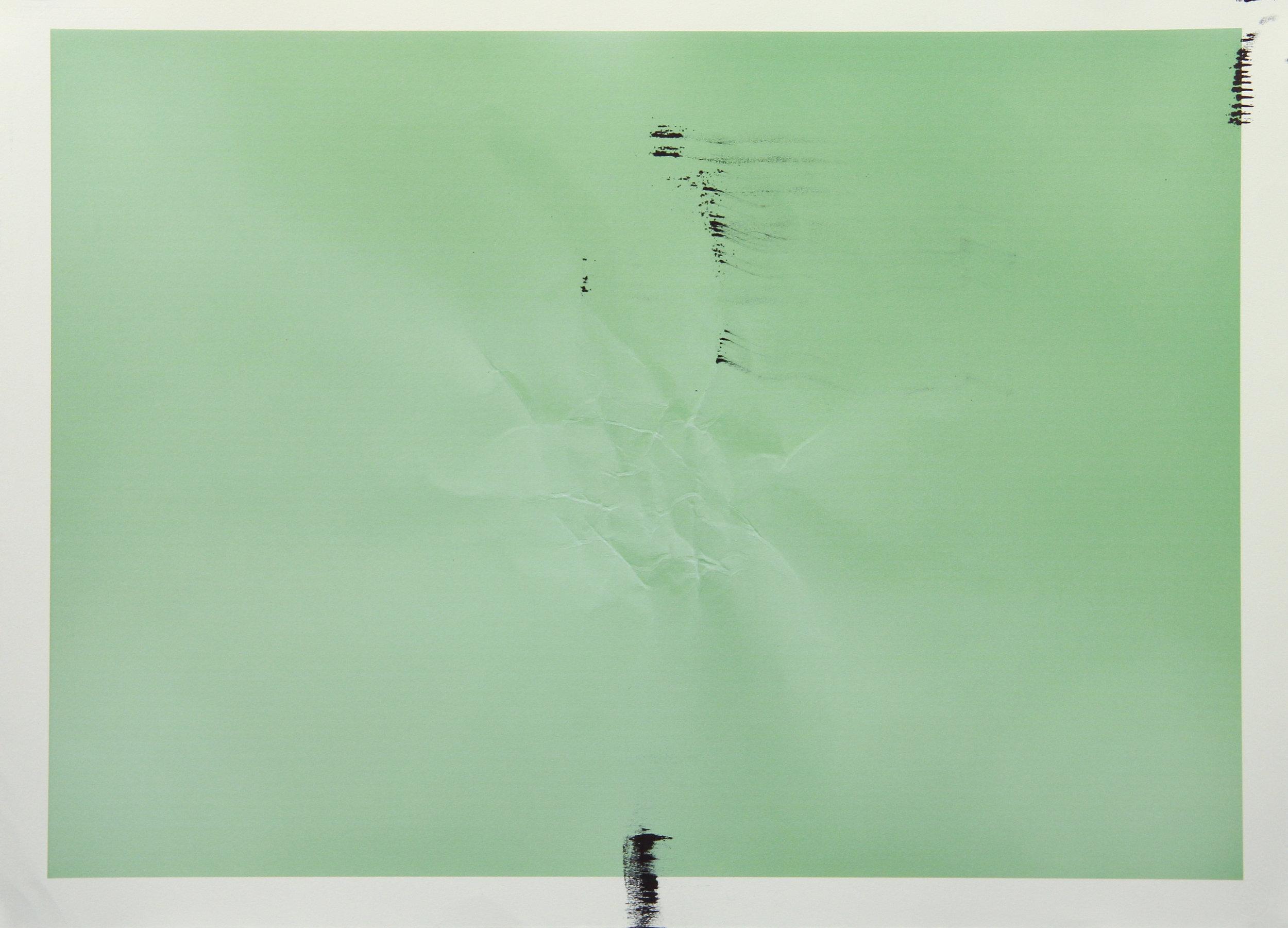 Tinted Headstrike #11, 2015 Unique giclée print, 107 x 78 cm