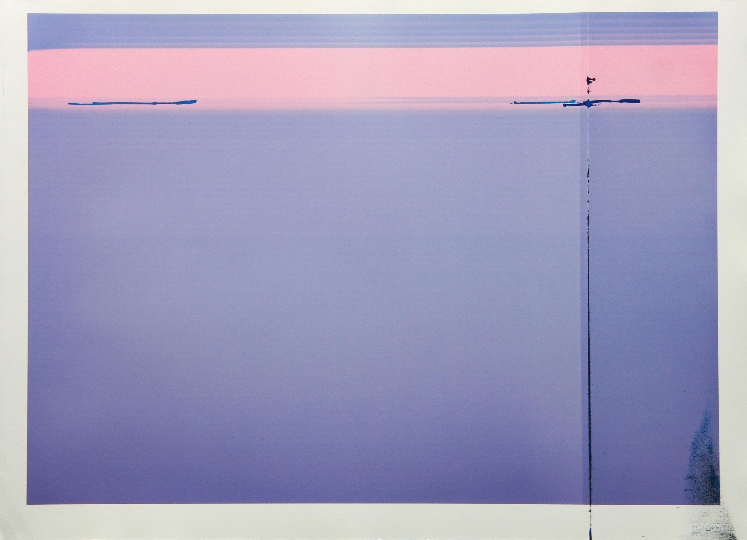 Tinted Headstrike #13, 2015 Unique giclée print, 107 x 78 cm