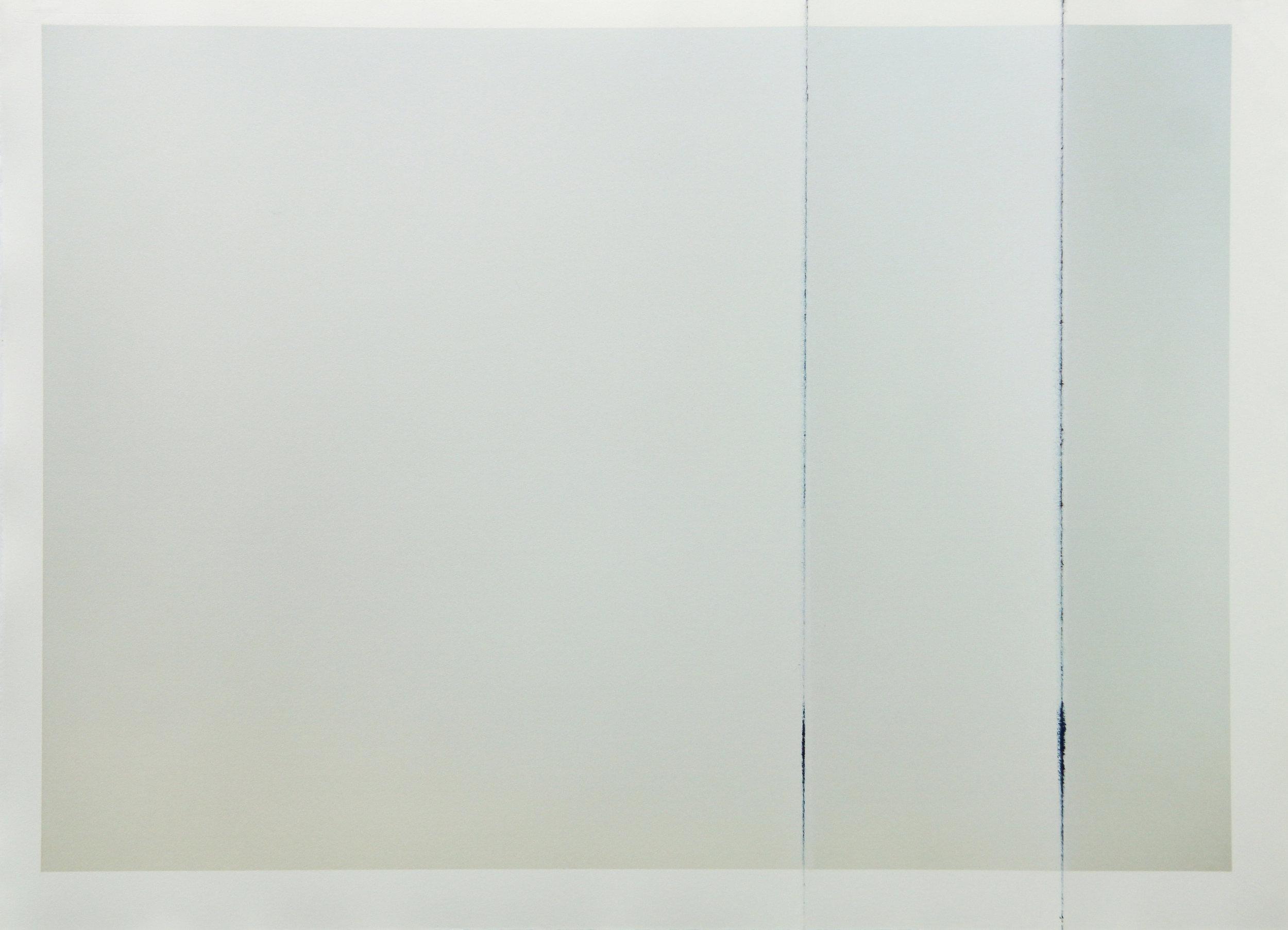 Tinted Headstrike #16, 2015 Unique giclée print, 107 x 78 cm