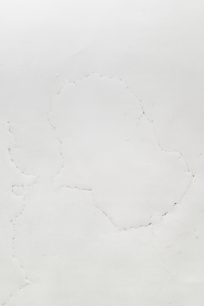 Possible Impressions, 2014 Embossing and dirt, 50 x 80 cm