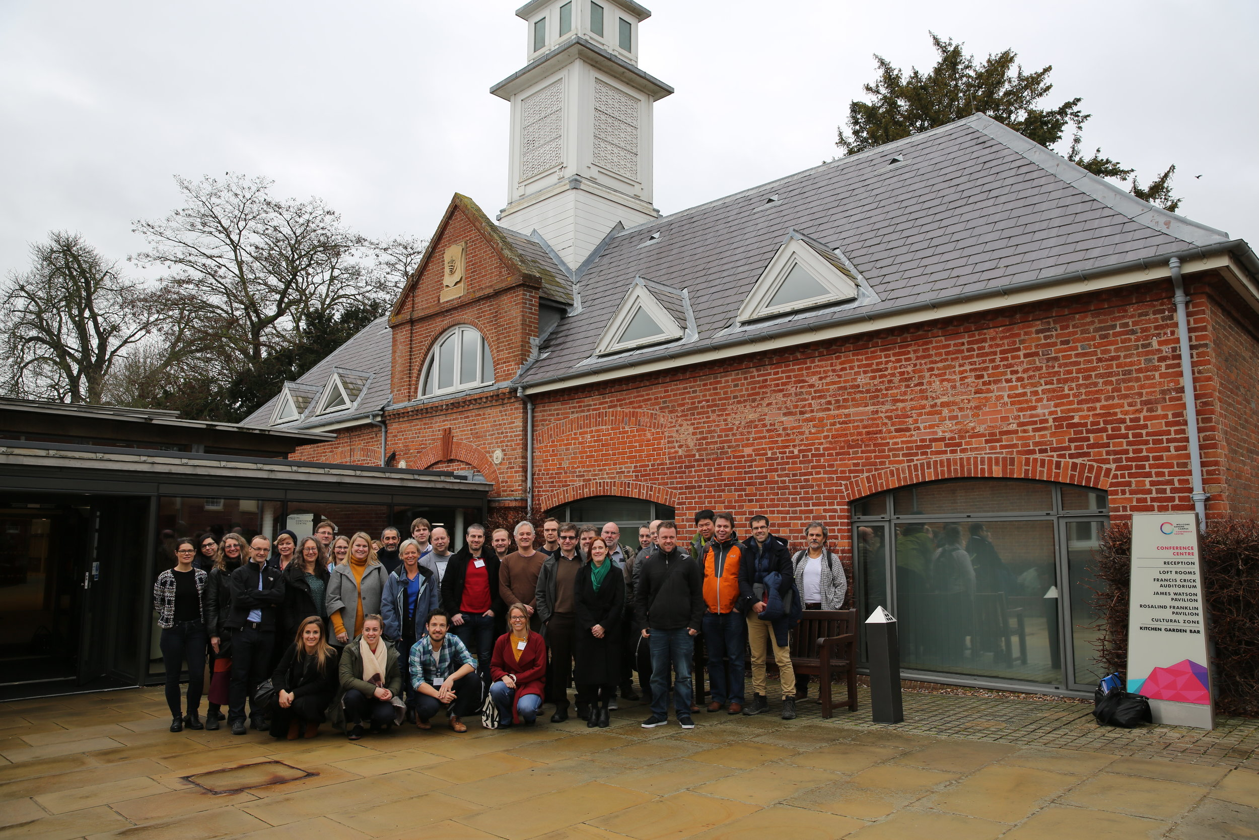 CINECA project kickoff meeting group photo, January 2019