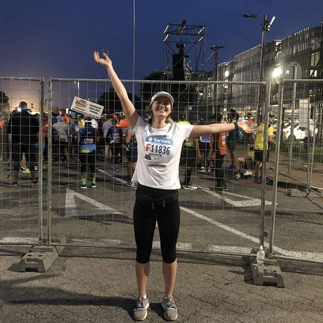 """I felt inspired to challenge my being, to show that I'm someone who cares, and help build momentum towards breaking barriers for Africa's disabled beyond 2020."" . Megan participated in and completed her first marathon after training for only a month!! 😮 😎  In doing so she raised awareness in her circle, conquered her fears, redefined her boundaries, and showed that she is someone who cares about the 80 million people living with disabilities in Africa. [5/7] . . Watch out for the next post in the story on Wednesday, and tag someone you know who cares about changing attitudes towards the 80 million people living with disabilities in #Africa! . . #Mpumi2020 #Someonewhocares  #RunToInspire  #disability #abilitynotdisability #disabilityawareness #Changeminds #ChangeAttitudes #WomanPower #Strongwomen #BringHope #CapeTown"