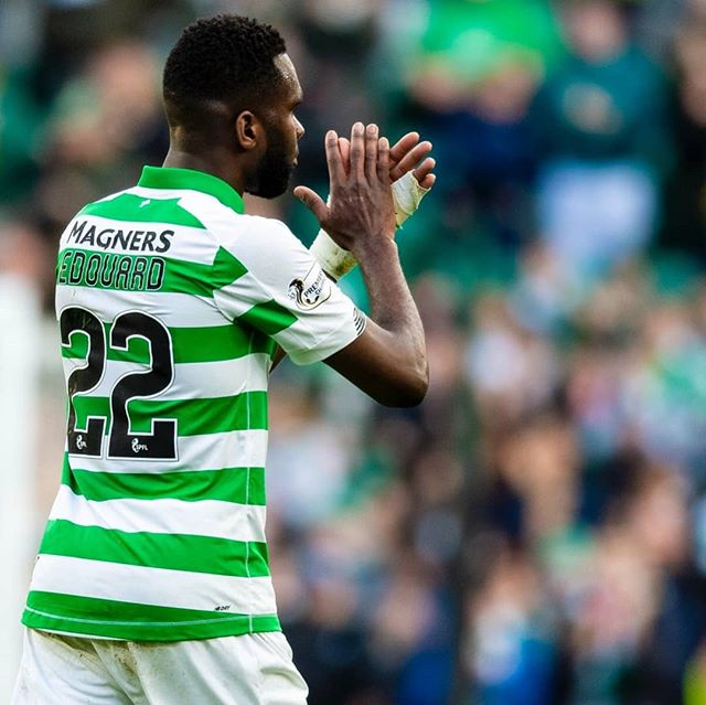 This man is on fire for both club and country. Edouard once again bagged a brace for Celtic in their 6-0 win over Ross County on Saturday and showed once again that he is a top striker. Enjoy him while we have him as he will be snapped up for a bigger fee than what Dembele secured for Celtic. #edouard #odsonneedouard #celticfc #rosscounty #celticpark
