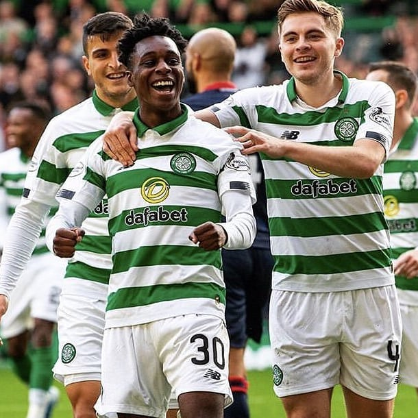 This kid is a baller. Frimpong is still young but he has already shown his qualities and is a superb addition to our squad. Should play against the 'lesser' teams in the league and cup more regularly. #frimpong #celticfc #celticpark #rosscounty