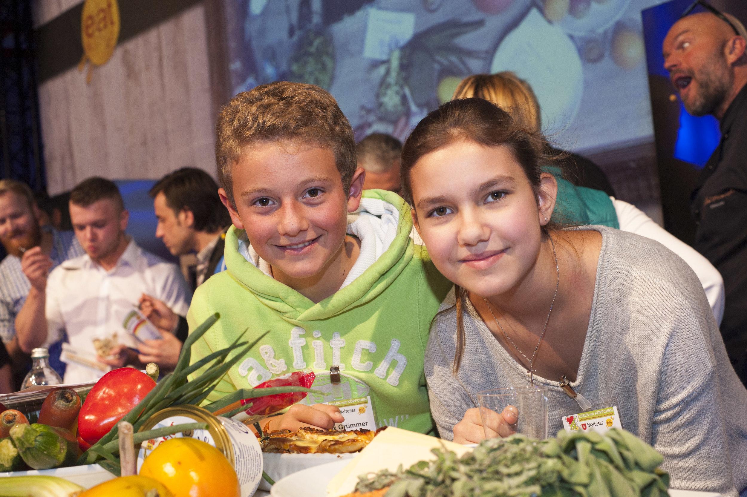 Smartfoodies -Essen mit Köpfchen - Gesund essen, gesund lernen, gesund leben.