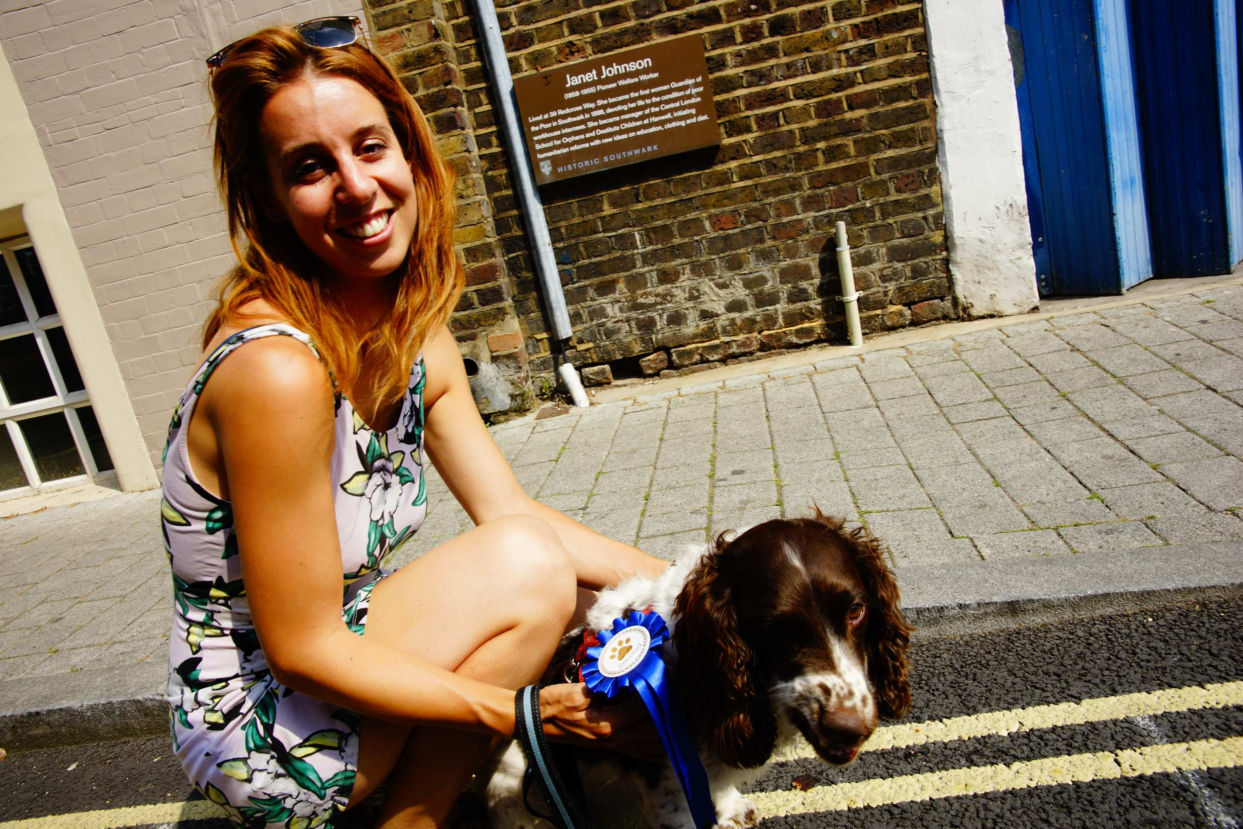 Bankside 'Bark Off' Dog Show -