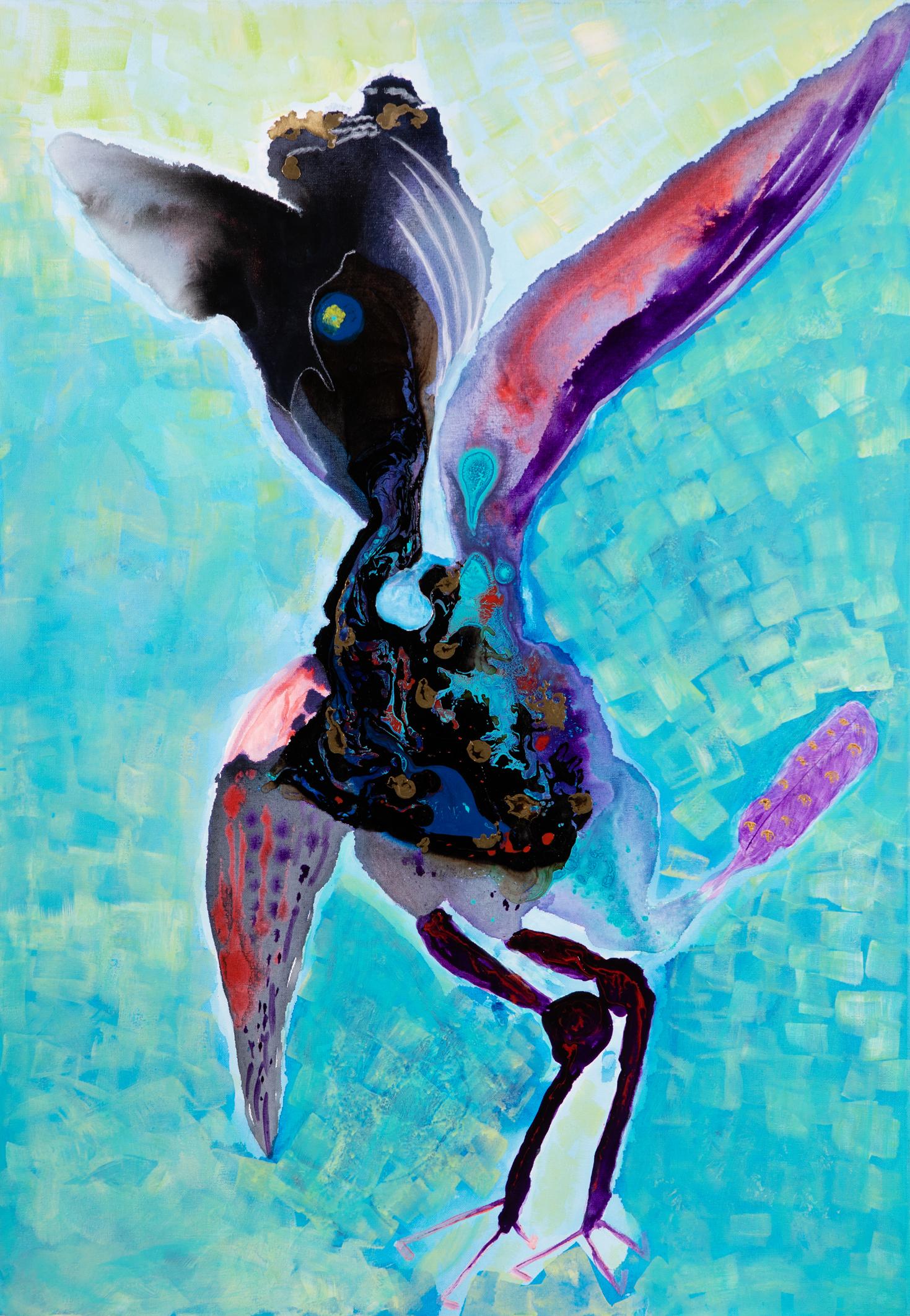 Adler - 2016Acryl auf Leinwand70 x 100 cm