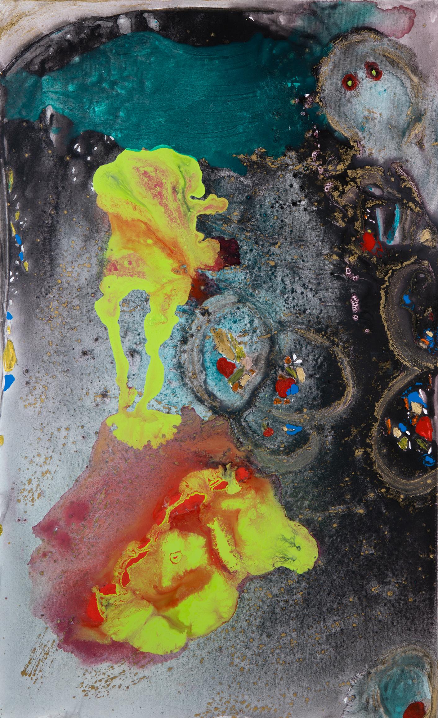 Fee - 2017Acryl auf Leinwand130 x 80 cm