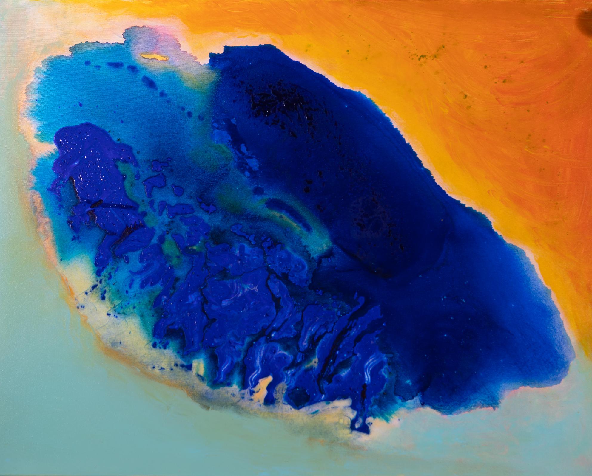 Kaspisches Meer - Acryl auf Leinwand80 x 100 cm