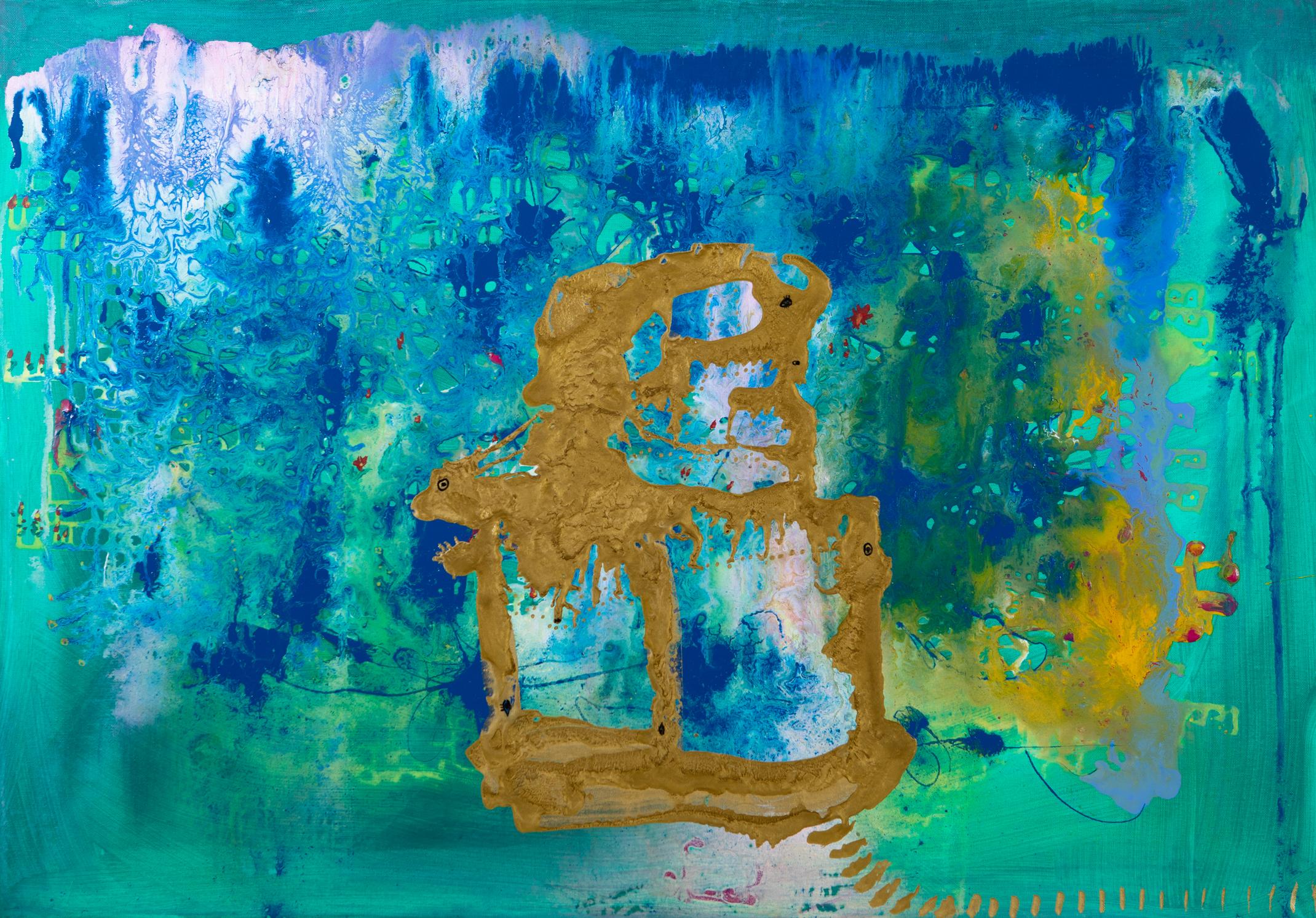 Goldener Palast - 2017Acryl auf Leinwand70 x 100 cm