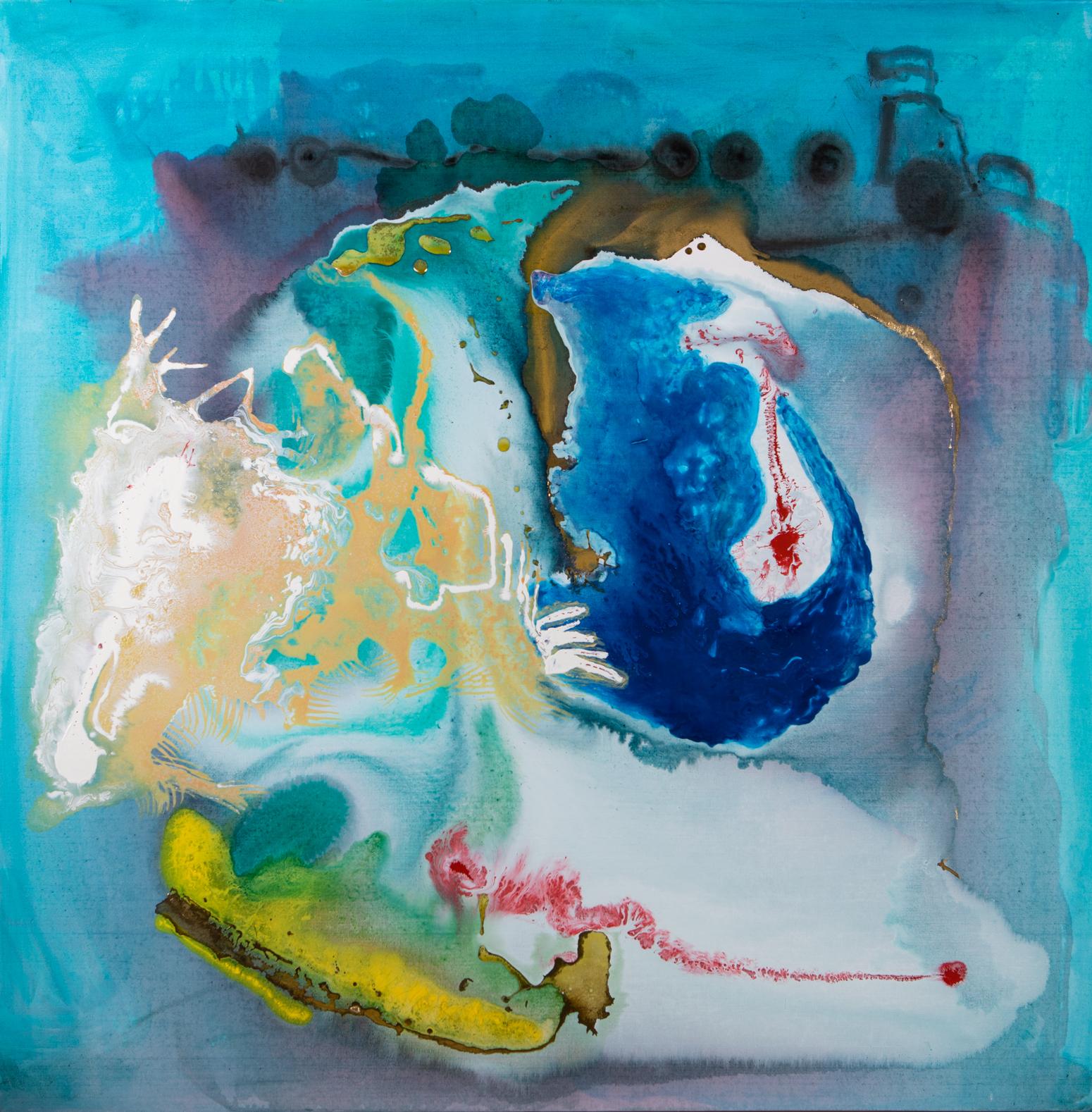 Love to Love - Acryl auf Leinwand120 x 120 cm