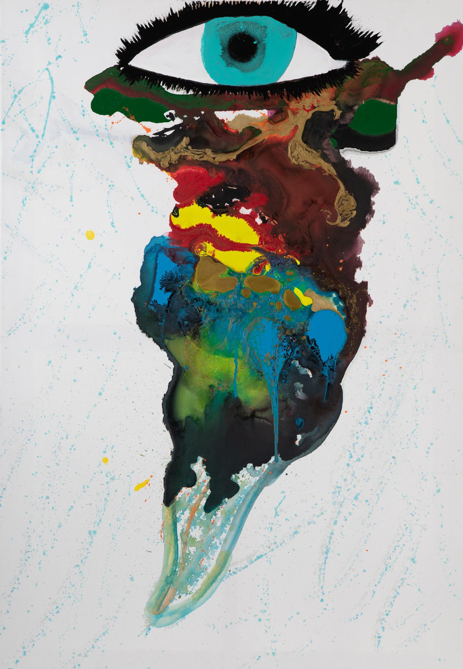 Zukunft im Blick - 2016Acryl auf Leinwand80 x 100 cm