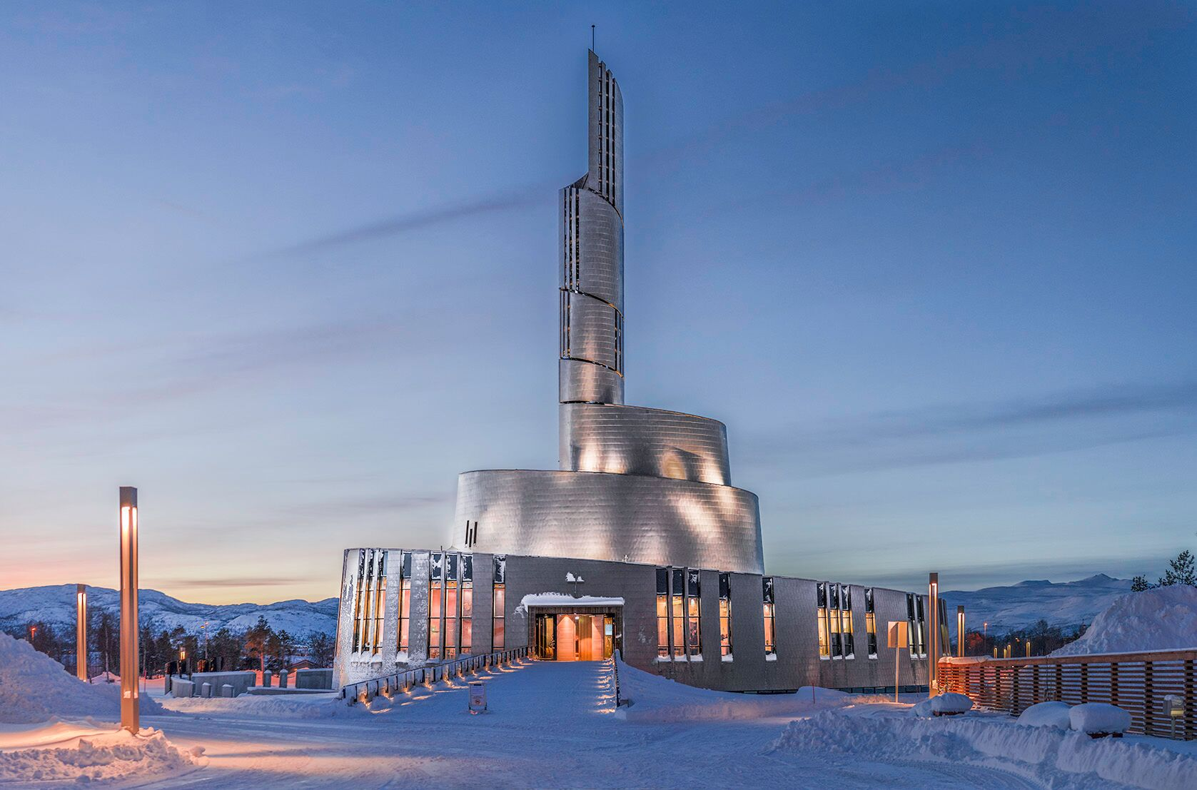 The Northern light cathedral (Foto: Roger Johansen)