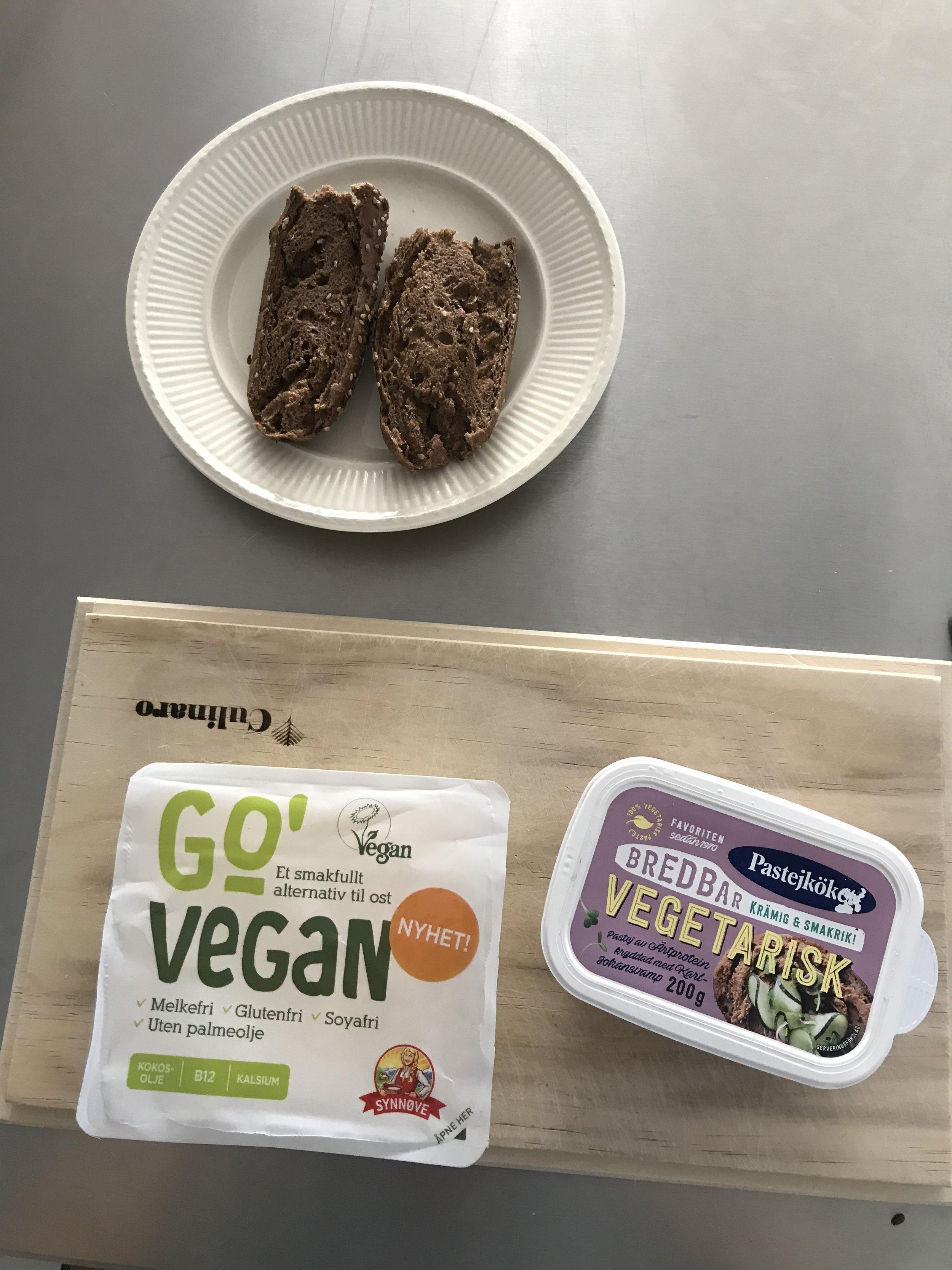 Go vegan by synnøve & breddbar vegetarisk