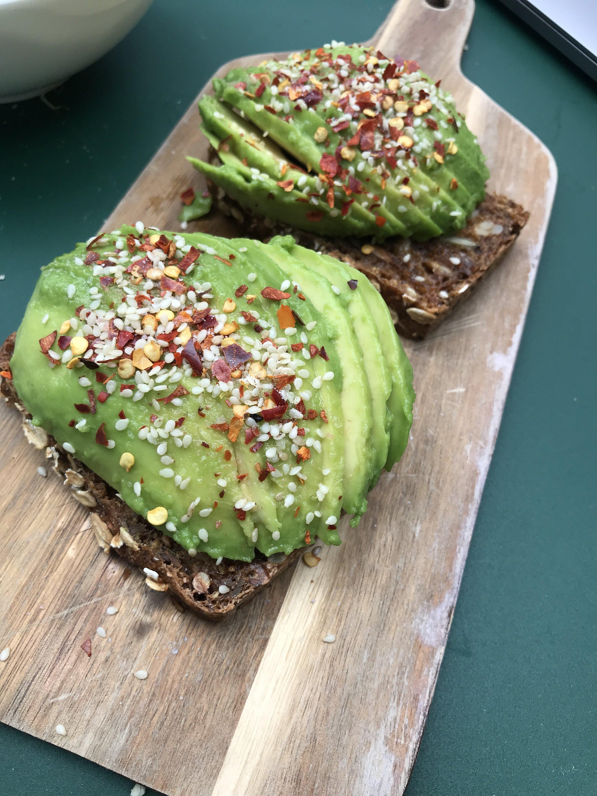 who loves avocado toast?