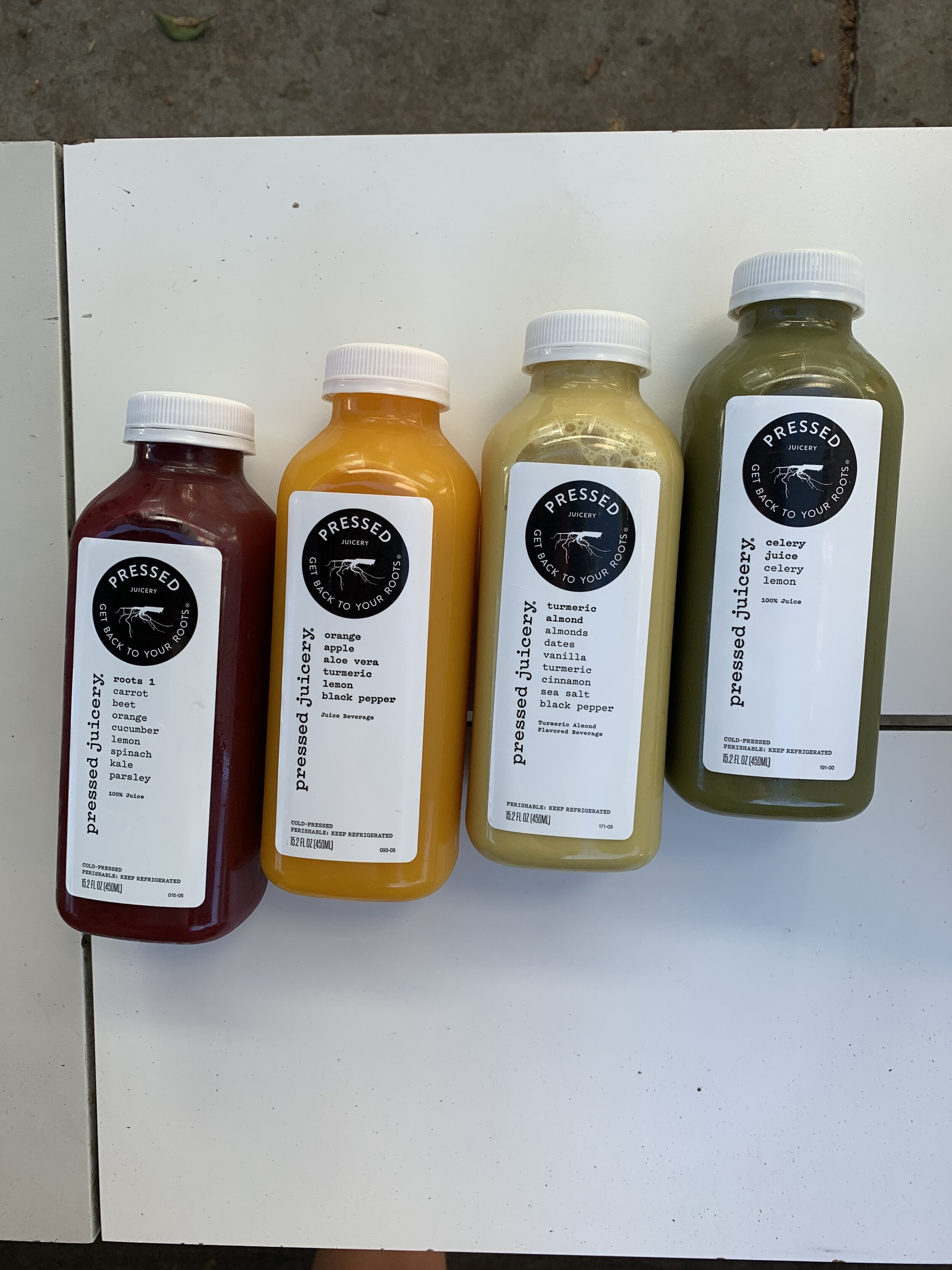 Juices at Pressed Juciery