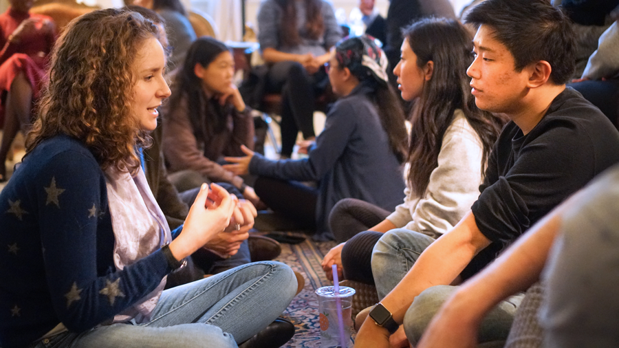 #ListenFirst - Duke Service-Learning facilitates a conversation about authentic listening, leadership and learning