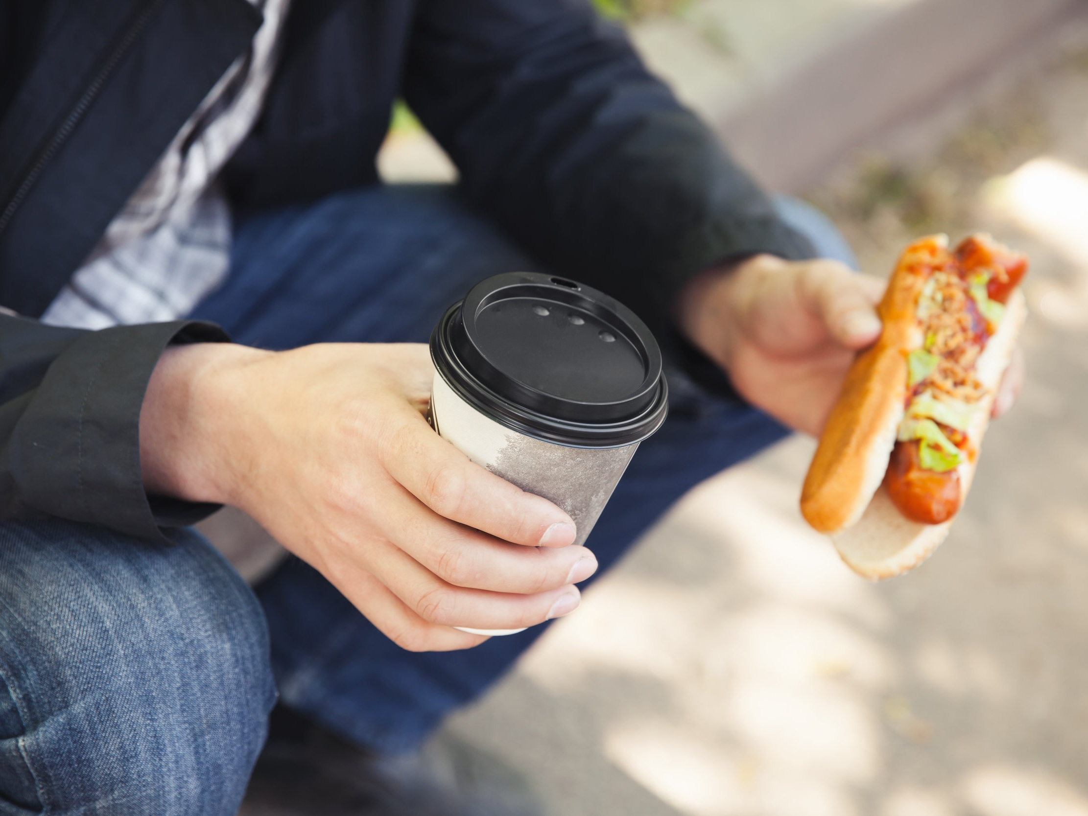 Keep hold of your plastic, cans and coffee cups and make sure they're empty - Leftover food and liquid could make a whole batch go to waste.