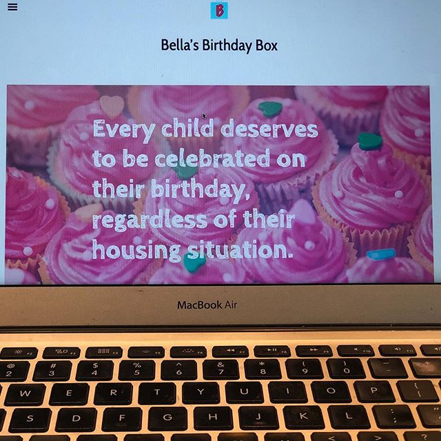 We are live! We reorganized the site and now we are live. Thank you @tc__todd  So excited. Please check it out (link in profile) and let us know what you think! #bellasbirthdaybox #westchester #givingbacktothecommunity #🎂