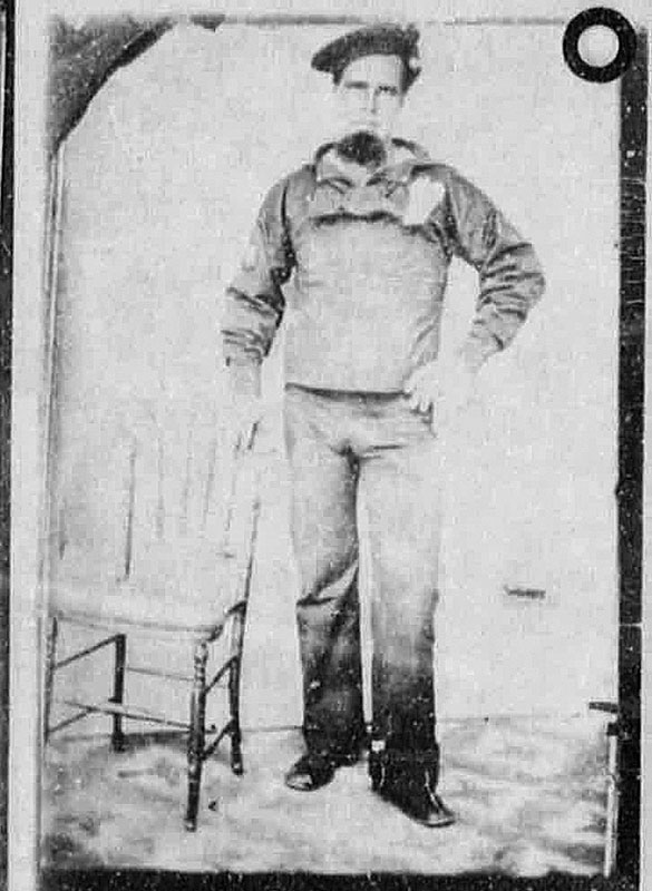 Nichols in Civil War Navy uniform