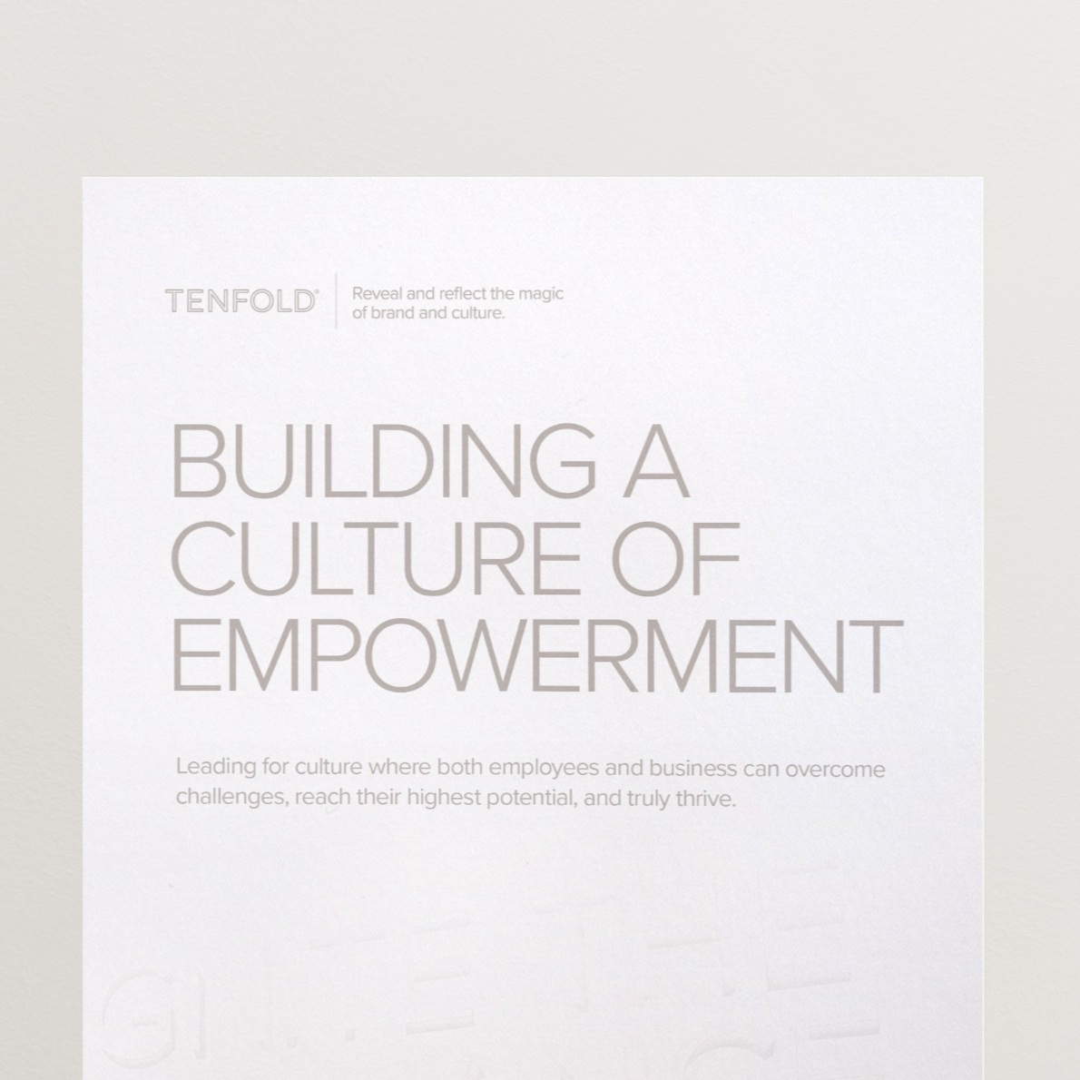 - Why Empowerment Culture is so hard to cultivate, and what to think about on your journey to empowerment.