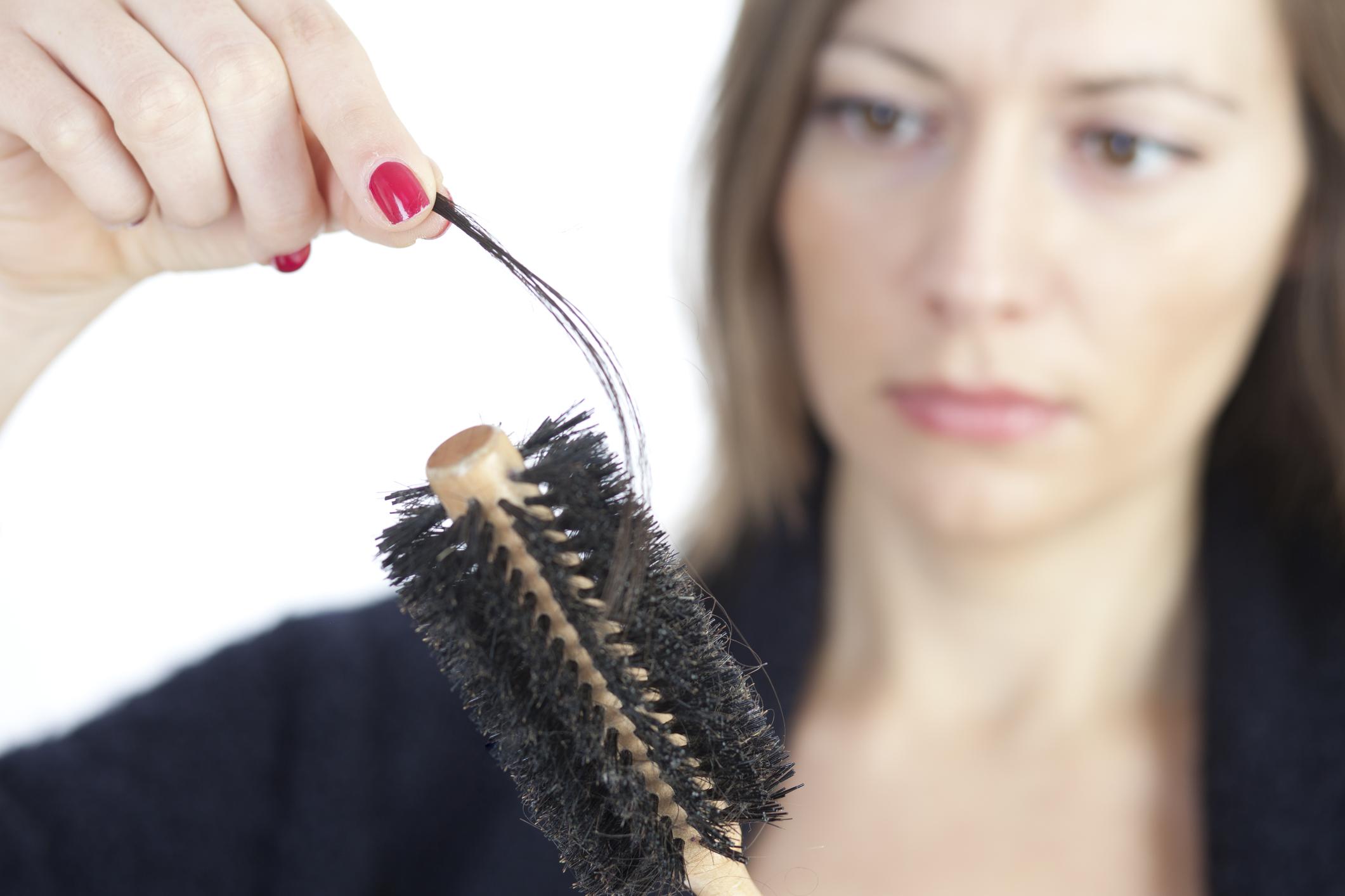 Hair loss from medications