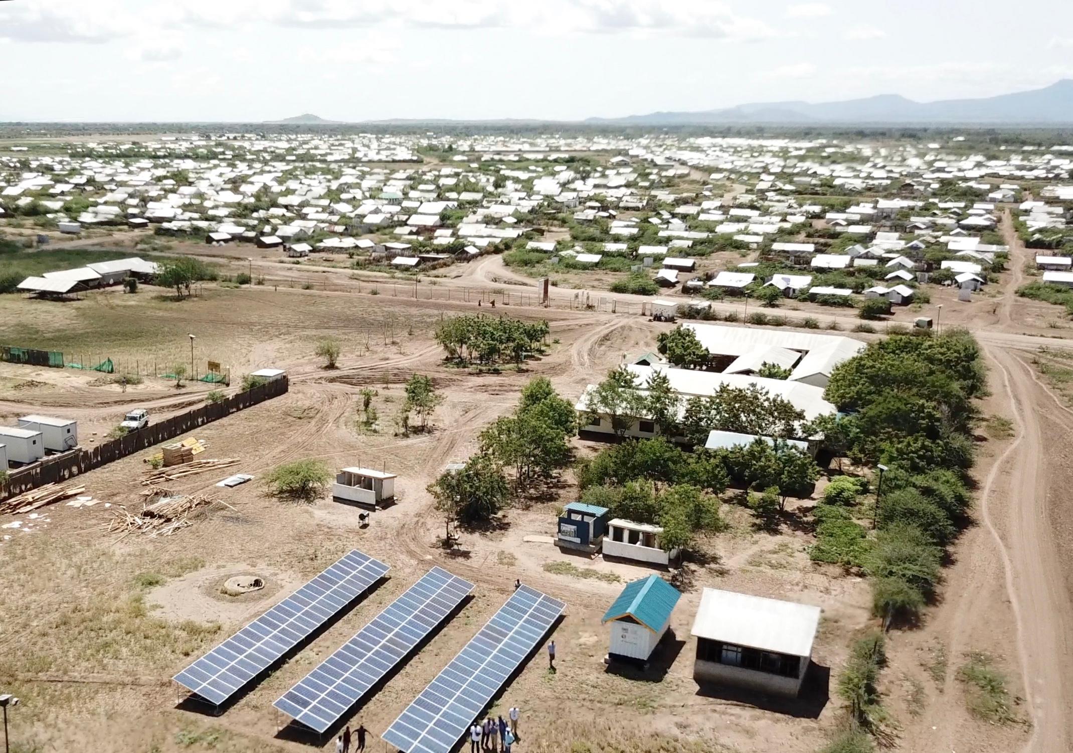 Kakuma refugee camp, Kenya, was built for people fleeing Sudan. Photo credit: Mads Uhlin Hansen.