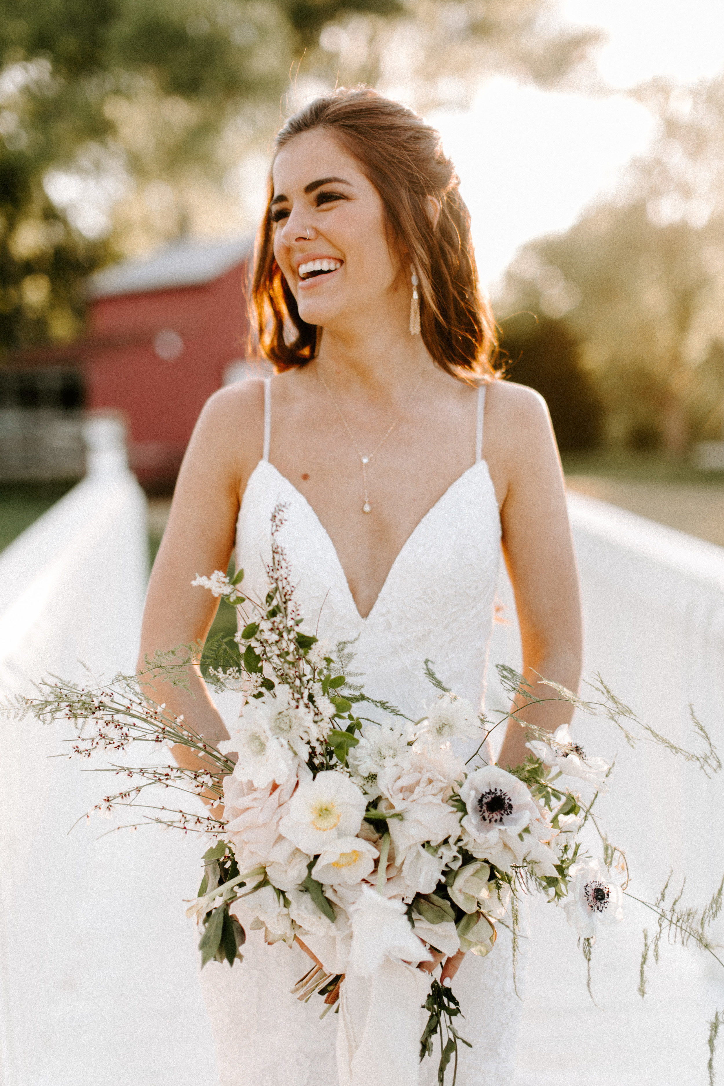 A Romantic Wedding in the Firefly Gardens - Featuring:Photography: Local EmbersHAMU: Well Beyond BeautyDress: A & Be BridalVenue: Firefly Gardens