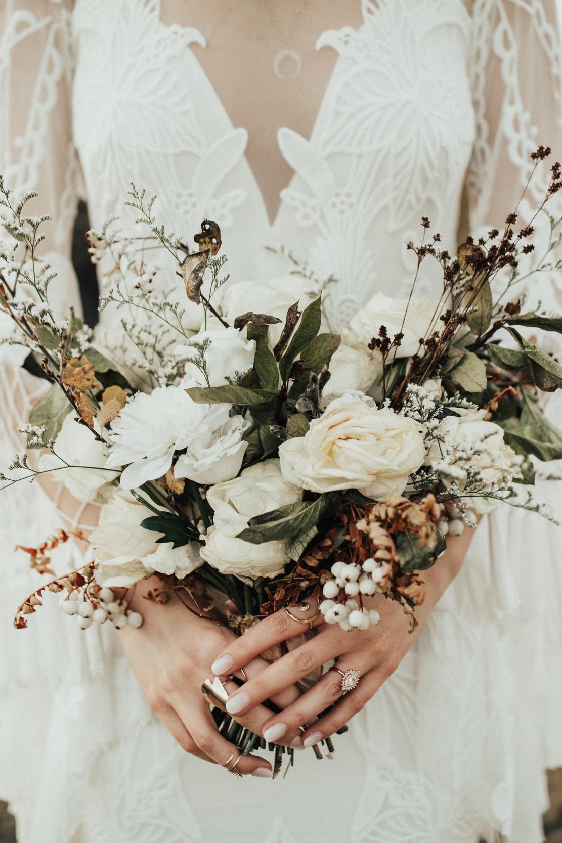 A Modern Icelandic Elopement - Featuring:Photography: Lauren NicoleDress: a & bè bridalshop