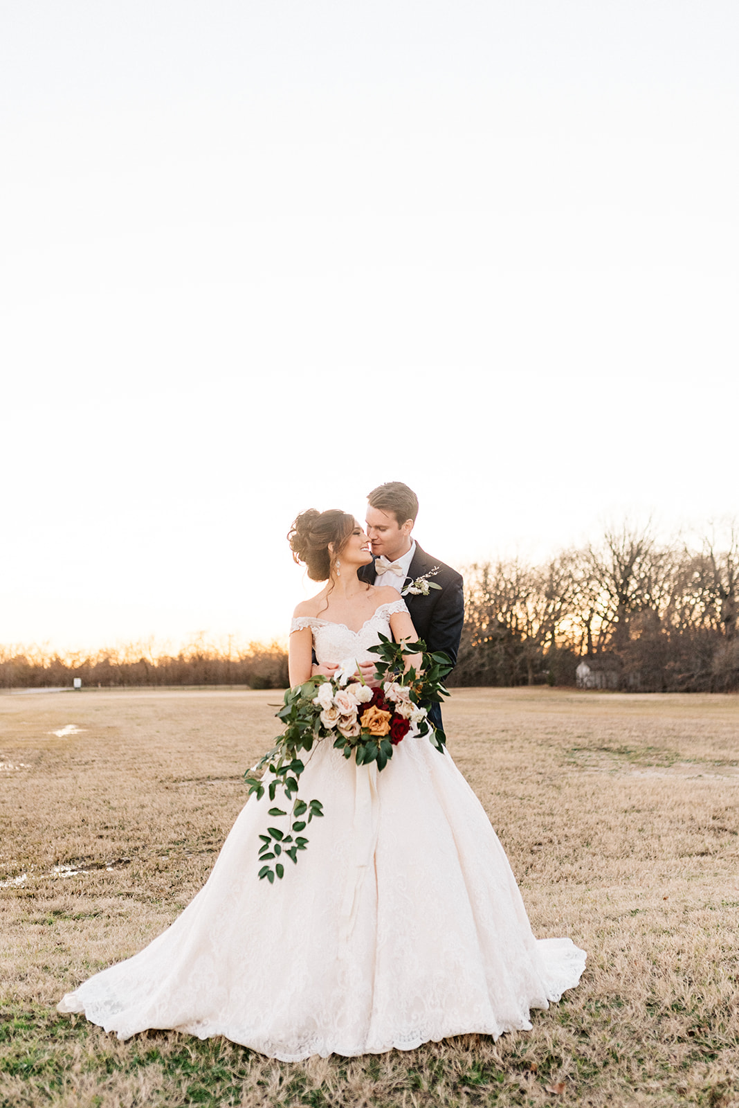 A Winter Wedding at The Emerson - Featuring:Planning: Bash Co EventsPhotography: Mikayla DawnVenue: The EmersonRentals: Coral Lane