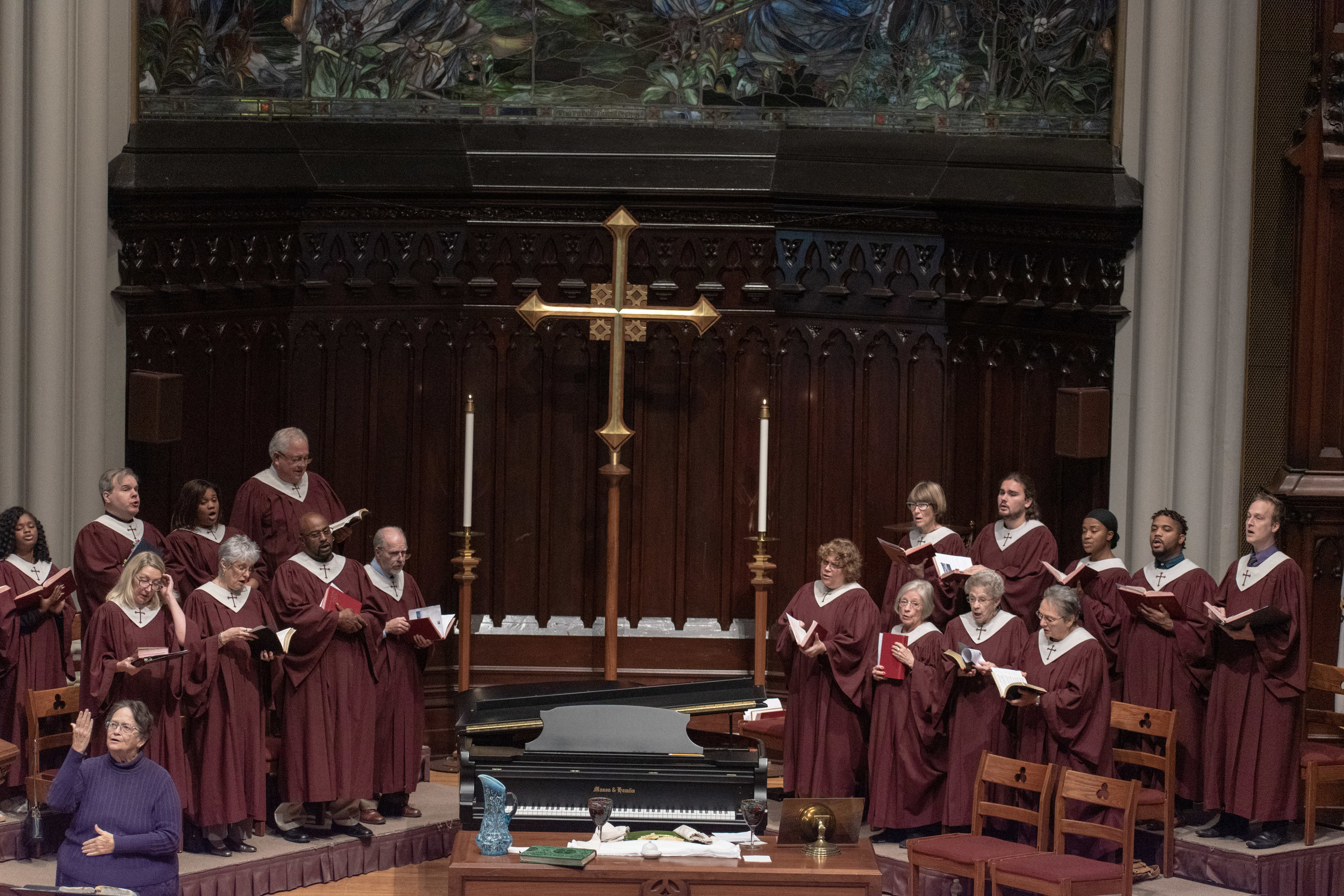 Grace Church Choir - Open to all youth in Grade 8 through adults, sings in worship weekly at 10:25am.
